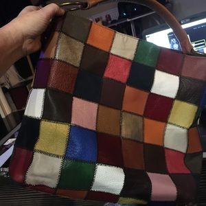 Savi Mom Handbags - 💯 PERCENT Suede and Leather Hobo Bag Very Roomy..