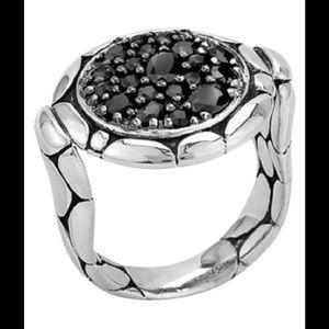 John Hardy Jewelry - John Hardy black sapphire Sterling silver ring