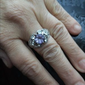 Swarovski Jewelry - Kari's Collection Rose de France ring