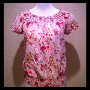 Tops - Pretty in Pink Floral Top