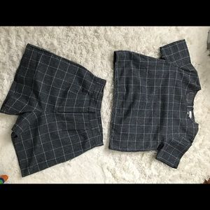 NATIVE YOUTH Other - Checkered outfit