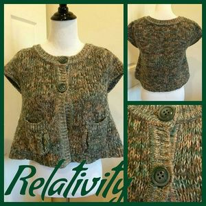 Relativity Sweaters - RELATIVITY CROPPED COVER