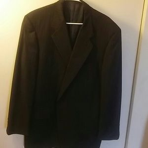 Hickey Freeman Other - Hickey freeman striped boardroom suit jacket 46l