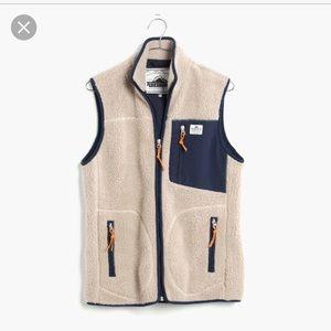 Penfield Jackets & Blazers - Madewell Penfield Lucan fleece Vest