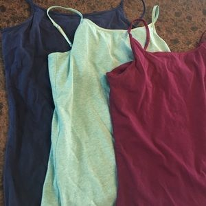 Mossimo Supply Co. Tops - Bundle of 3 spaghetti strap tank tops