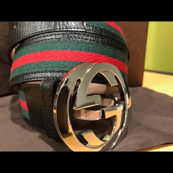 63 off gucci other ��� authentic men gucci belt black