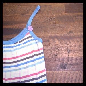 Vintage Havana Tops - Super cute tank with buttons!
