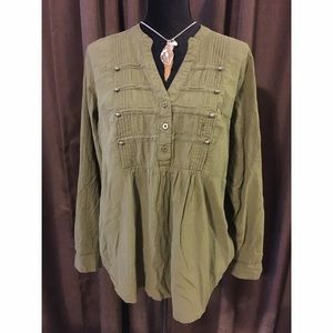 Torrid Military Style Top Size 1x