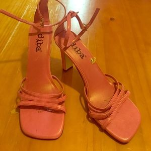 Diba Shoes - Sexy Strappy pink heels