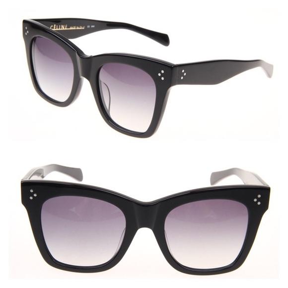 38afeab9e96 New Celine Sunglasses CL 41090 S CATHERINE Black