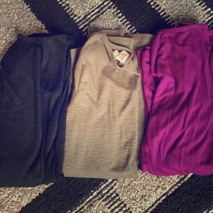 Mossimo Supply Co. Tops - Bundle of 3 long sleeve layering shirts