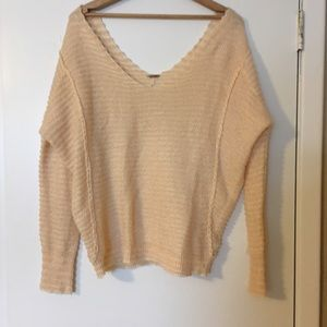 Free People Off-Shoulder Sweater