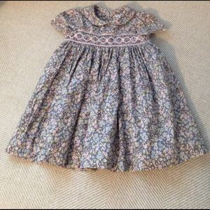 Luli & Me Other - 💥REDUCED💥 Luli&Me Baby Girl Smocked Floral Dress