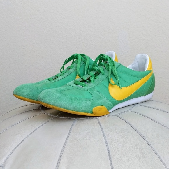 Nike Sprint Sister Vintage Green Yellow Sneakers