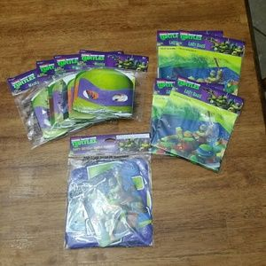 Nickelodeon Other - New! TMNT birthday party supply lot