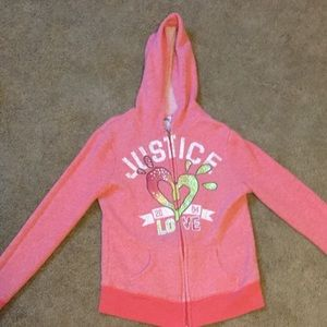 Justice Other - Justice Zipper Hoodie Jacket Size 10 NWOT