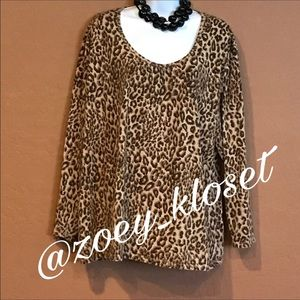 Just My Size Tops - 👚Just My Size Leopard Tunic Top