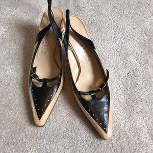 Anne Klein Shoes - Anne Klein heels black tan 6