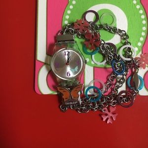 Swatch Other - Girls' colorful Swatch watch