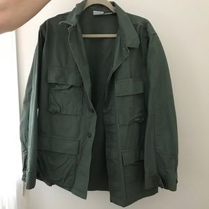 Propper Jackets & Blazers - Army Green Military Cargo Jacket