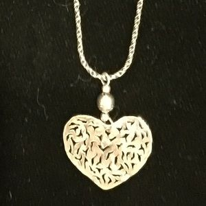 Silpada Jewelry - Silpada Heart Necklace