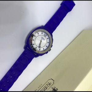 Coach Accessories - Coach Blue Watch