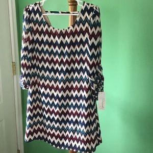 Speechless Dresses & Skirts - 🎉🎉Speechless 3/4 zig-zag dress🎉🎉