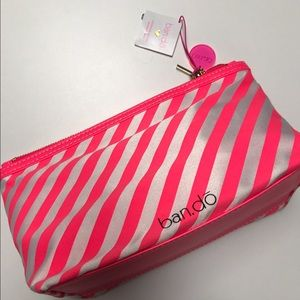 ban.do Handbags - NEW With Tags Ban.do Striped Makeup Bag