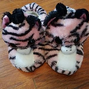 ty Other - Girls NWOT ty zebra slippers