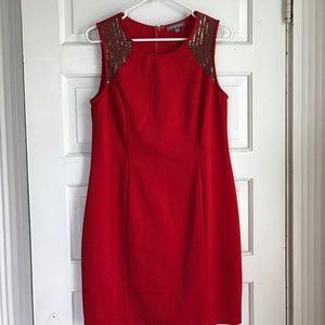 Tinley Road Dresses & Skirts - Tinley Road Embellished/Beaded Pencil Dress