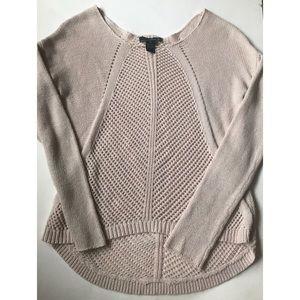 Willi Smith Sweaters - Crochet Sweater - Blush