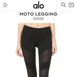 Alo Yoga Moto Legging (XS)
