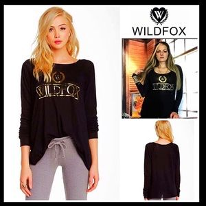 Wildfox Tops - ❗️1-HOUR SALE❗️WILDFOX Country Club Logo Pullover