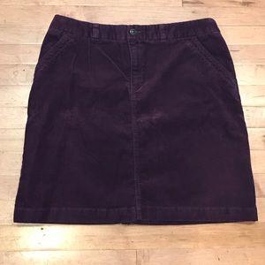 Merona corduroy skirt