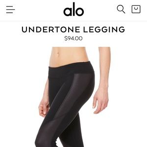 Alo Yoga Undertone Legging XS