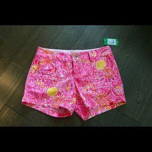  NWT Lilly Pulitzer Callahan Shorts