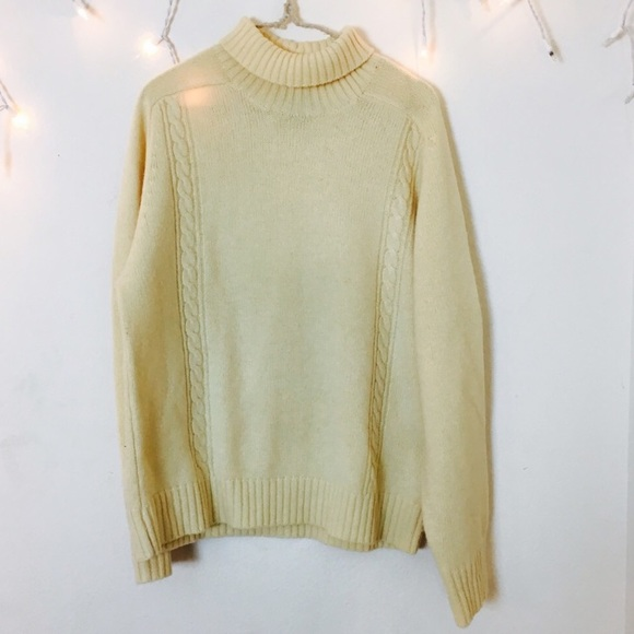 88% off Sweaters - #40 Vintage Pastel Yellow Sweater from Bailey's ...