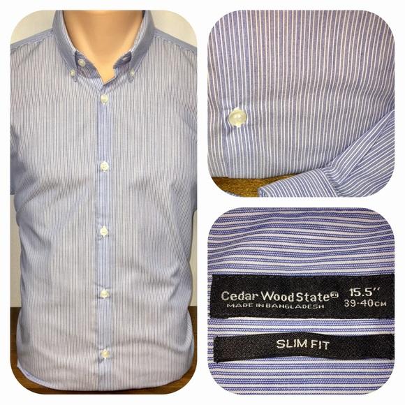 82ffd1b2 Cedar Wood State Shirts | Slim Fit Shirt | Poshmark