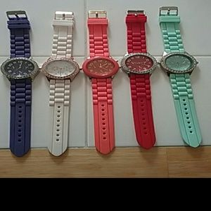 Jewelry - Watches jelly watches