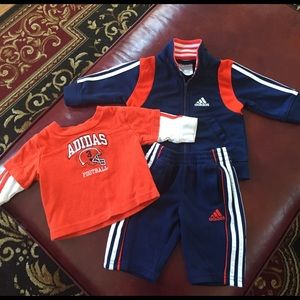 Baby Adidas sweatsuit 3 months
