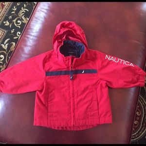 Baby Nautical Rain Jacket 3-6 months