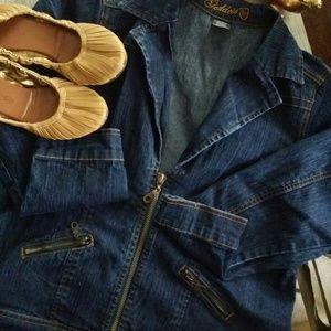 Goddess Jackets & Blazers - Goddess denim jacket