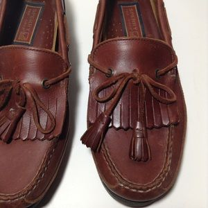 Sperry Top-Sider Other - Sperry Top-Sider Brown Leather Kiltie Boat Shoes