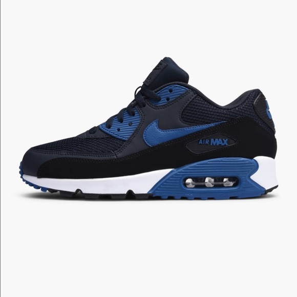 wholesale dealer dc859 9783d ... Women s Air Max 90 Essential Midnight Blue. Nike.  M 58de98ed981829cceb00f27b. M 58dec6016a583005f1008538.  M 58dec6026a583005f1008539