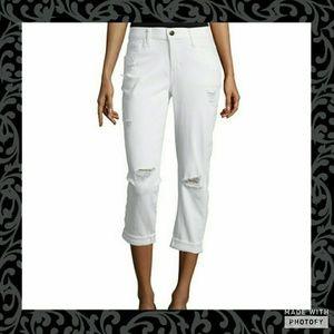 Stylus Pants - 🦋Stylus Boyfriend Crop Jeans