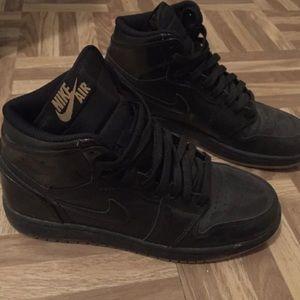 Nike Shoes | Nike Air Jordan All Black