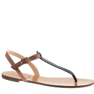 J. Crew Shoes - J.Crew Tabbie Colorblock Sandals
