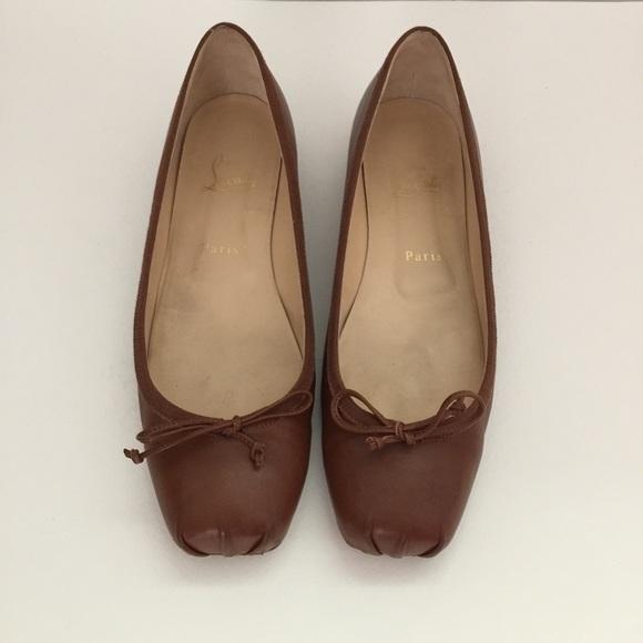 3c5e6269a7d Christian Louboutin Shoes - Christian Louboutin Rosella Box Toe Ballet Flat