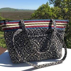 Vera Bradley Handbags - Vera Bradley Barcelona Miller Bag Tote Large