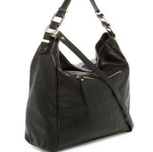 Urban Expressions Handbags - Urban Expressions Vegan Hobo - black